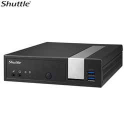 Shuttle DL10J - Fanless | 4K | Serial Ports | Triple Display