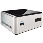 "Intel DN2820FYKH NUC Mini PC - Intel Celeron, 2.5"" HDD, HDMI"