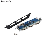 Shuttle PCM3 - Triple COM port expansion for Shuttle Slim PC XH81