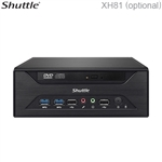 Shuttle XH81 - supports TPM, up to 5 COM ports